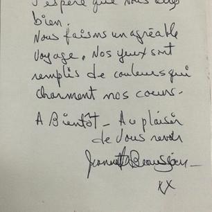 Jeannette Beauséjour, L'empreinte du voyage 2, 2021