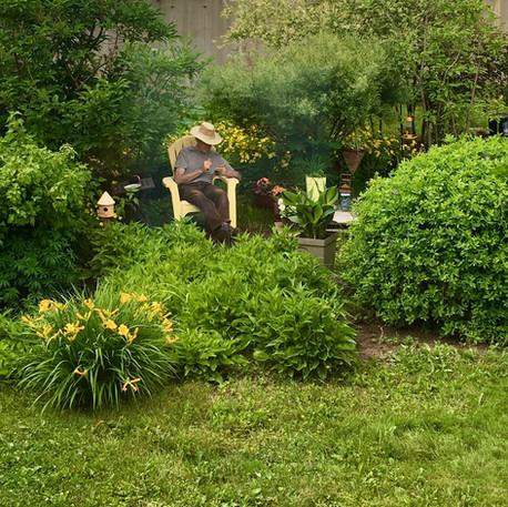 Marguerite Laurence Bacon, Le jardinier en vacances, 2020