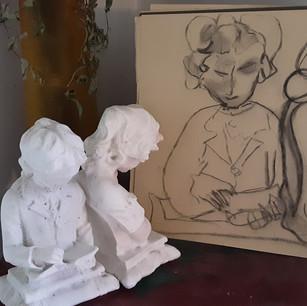 Rachel Landry, Statues de sel, 2020