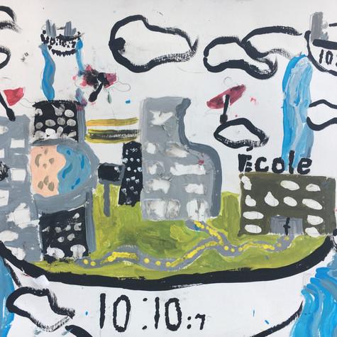 Enfant de la semaine 7 : Ville futuriste