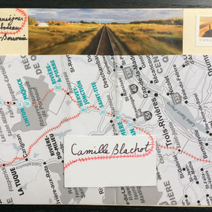 Ginette Beauséjour, L'épistolaire et le ferroviaire, 2021