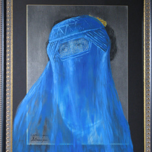 Ginette Beauséjour, Burqa, 2012