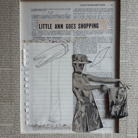 Ann Bilodeau, page   411, volume 2, little Ann goes shopping , 2018.
