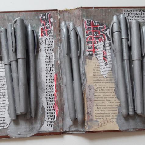 Ghislaine Lejard, Écritures, non daté
