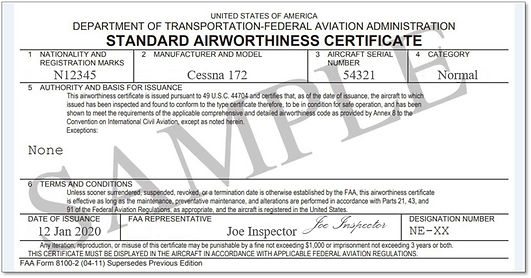 Standard Airworthiness certificate.png