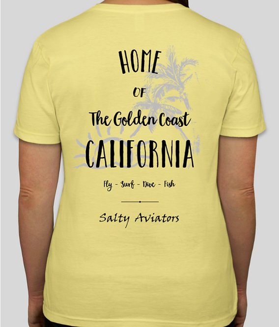 Ladies Golden Coast Short Sleeve