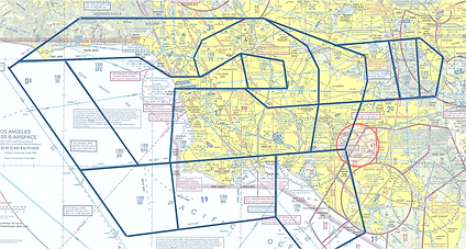 LAX Class Bravo airspace.png