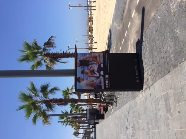 Photo Gallery along Tel Aviv Coastline