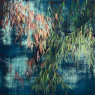 SulyBWolff_eucalyptus_oil on canvas_160x