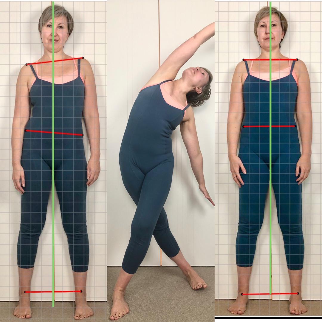 Postural alignment yoga