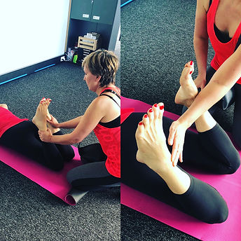 Align your pelvis with our professional Thai yoga massage!