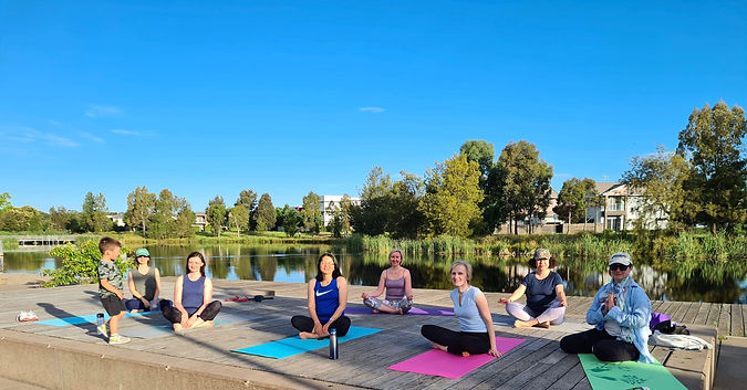 Yoga for posture in ford, Canberra