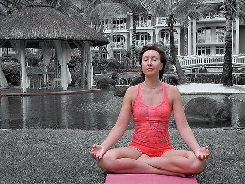 Elena Amani, founder of Yoga for posture