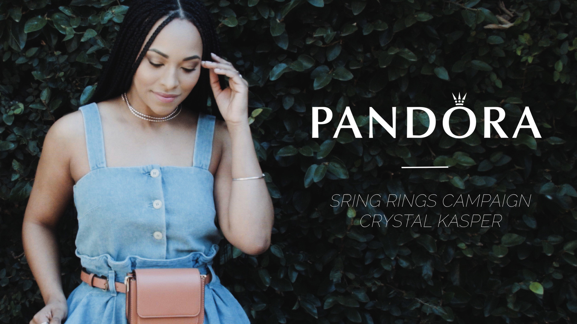 Crystal Kasper for Pandora Spring Rings Campaign
