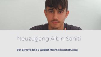 Neuzugang Albin Sahiti