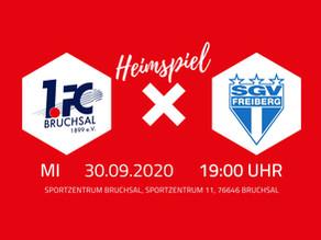 Vorbericht: 1.FC Bruchsal 1899 e.V. – SGV Freiberg Fußball