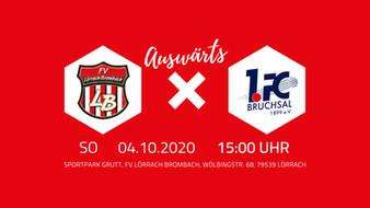 Vorbericht: FV Lörrach-Brombach – 1.FC Bruchsal 1899 e.V.