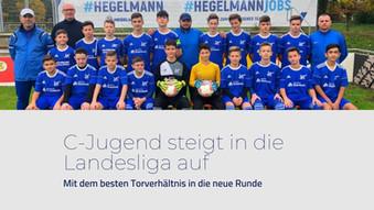 C-Jugend steigt in die Landesliga auf