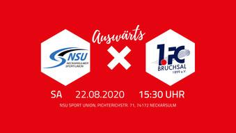 Vorbericht: 1.FC Bruchsal 1899 e.V. – NSU Neckarsulmer Sportunion