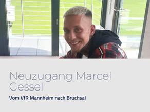 Pressemitteilung: Neuzugang Marcel Gessel