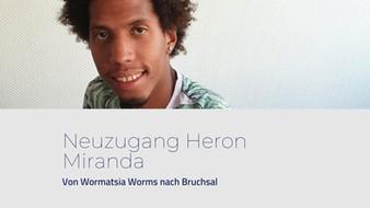 Pressemitteilung: Neuzugang Heron Miranda