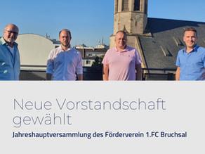 Jahreshauptversammlung des Förderverein 1.FC Bruchsal 1899 e.V.