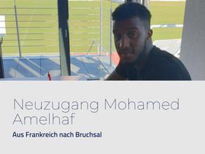 Pressemitteilung: Neuzugang Mohamed Amelhaf