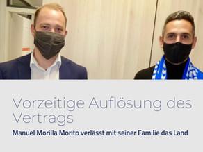 Adiós Manuel Morilla Morito - danke und auf Wiedersehen