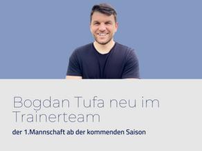 Bogdan Tufa neu im Trainerteam