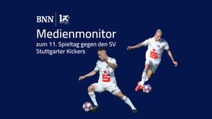 Medienmonitor zum 11. Spieltag gegen den SV Stuttgarter Kickers