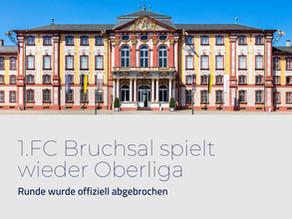 Pressemitteilung:1.FC Bruchsal spielt wieder Oberliga