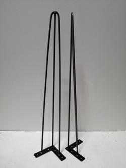Three rod hairpin legs