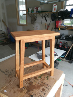 Pine bar stool
