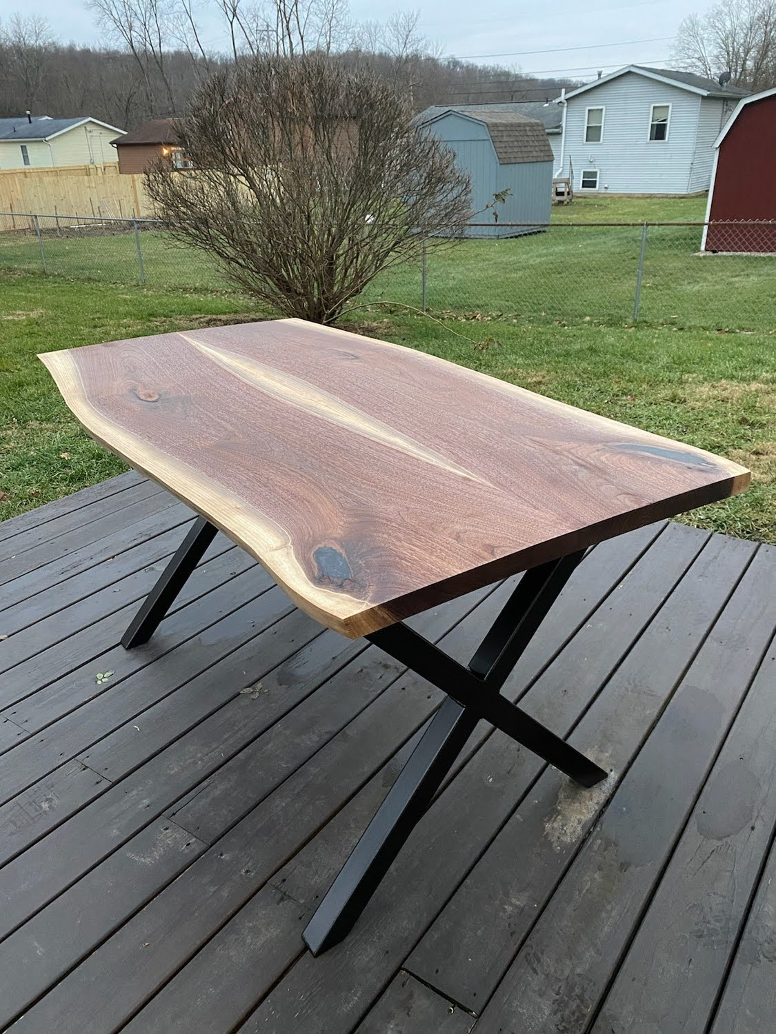 Live edge table on 28in X legs.jpg