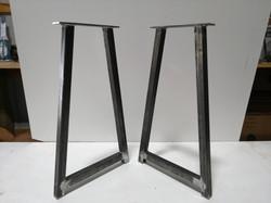 A frame steel tube bases