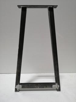 A frame steel bases