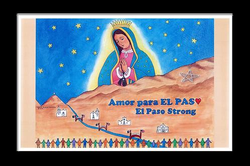Amor para El Paso - El Paso Strong Poster