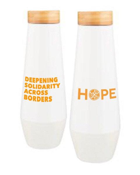 HOPE Deepening Solidarity Across Borders Tumbler
