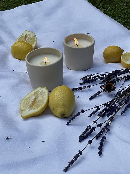 Clay pot Candles - Essential Oils