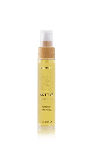 Бархатное масло для волос KEMON
