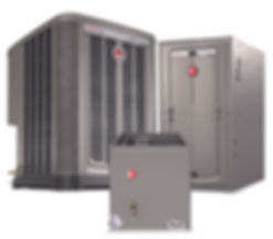 Rheem Gas Furnace Air Conditioner Coil