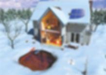 Geothermal Winter Heating