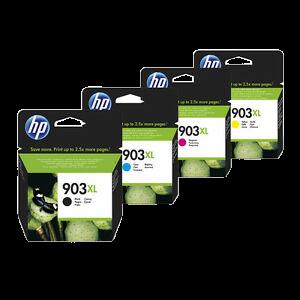 HP 903XL  - סט 4 ראשי דיו מקוריים