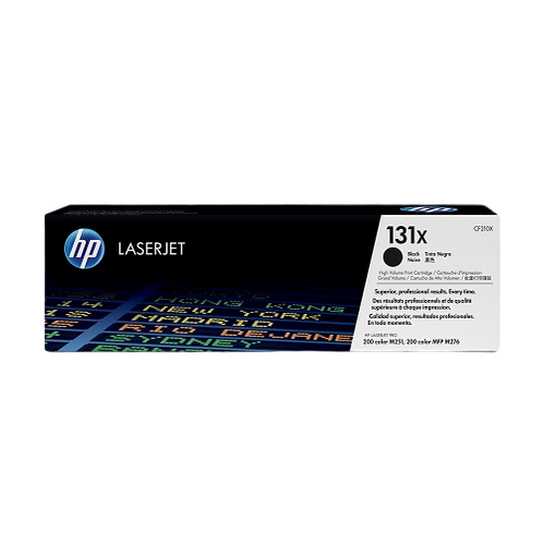 HP 131X Black Toner CF210X טונר מקורי