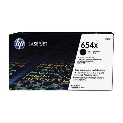 HP 654X CF330X טונר שחור מקורי