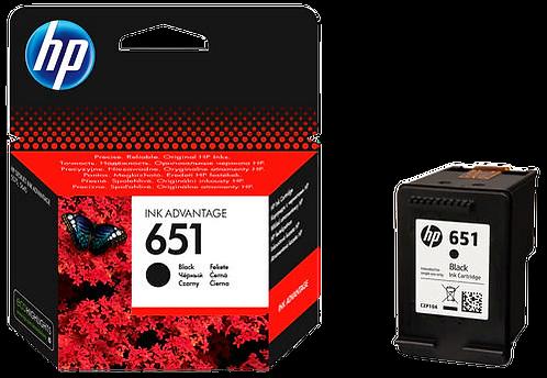 HP C2P10A 651 ראש דיו שחור מקורי
