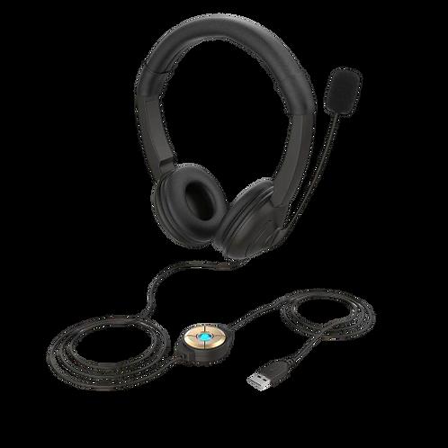 USB חיבור SY330MV אוזניות קשת + מיקרופון