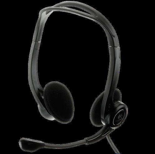 אוזניות + מיקרופון Logitech   USB  HEADSET H960