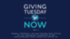 #GivingTuesdayNow 2020 Website Banner Te