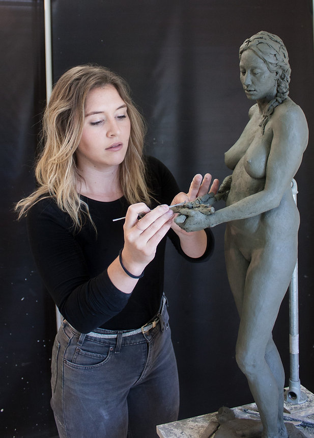 Kate Marin - Mary Magdalene Sculpture